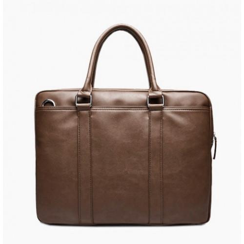 Универсальный портфель коричневого цвета для документов формат А4