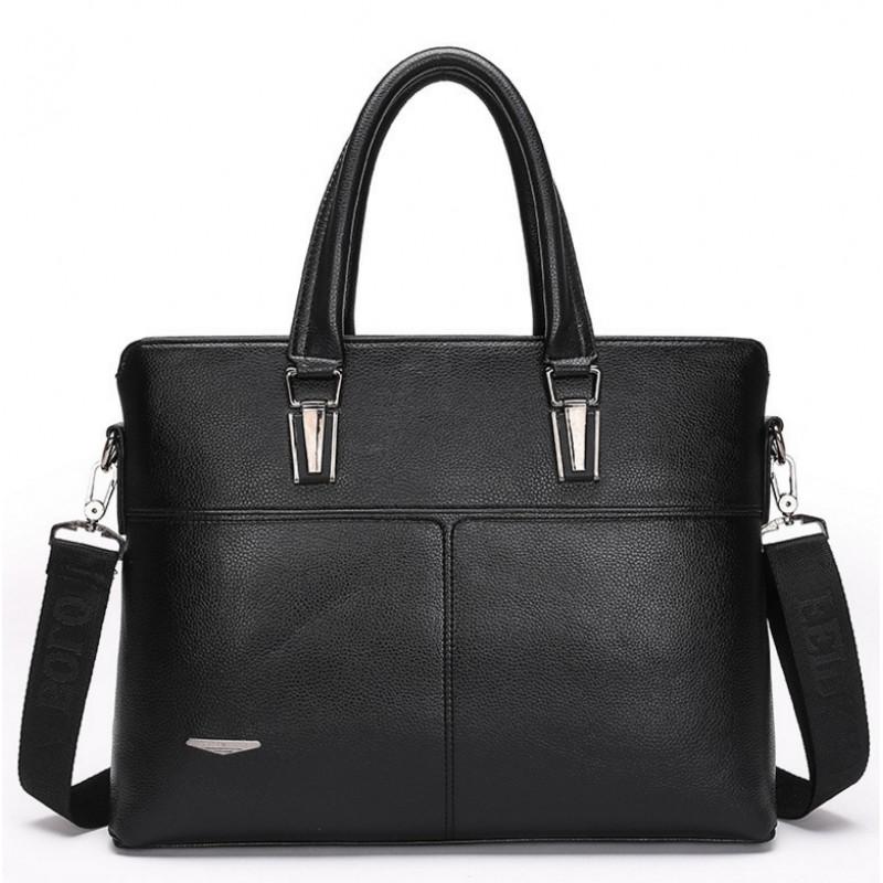 bc5d14c593fb Саратов - Мужская сумка портфель -T127 Цвет: черныйРазмер: 39х29х7 ...