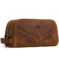 Мужская сумка -T144 в Самаре Цвет: коричневый Размер: 26х13,5х12см Материал:  кожа