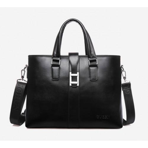 Мужская сумка портфель из искусственной кожи сумка для ноутбуков до 14 дюймов через плечо